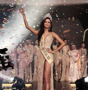 Aurra Kharishma Miss Grand Indonesia 2020