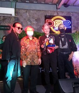 Trio Godfather dan dr. Lie A Dharmawan, pendiri doctorSHARE