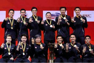 Bulutangkis Indonesia ke Thailand
