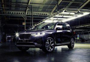 BMW X7 CKD Depan