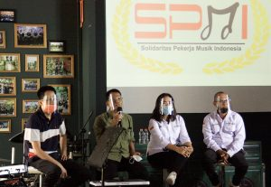Harry 'Koko' Santosa Solidaritas Pekerja Musik Indonesia